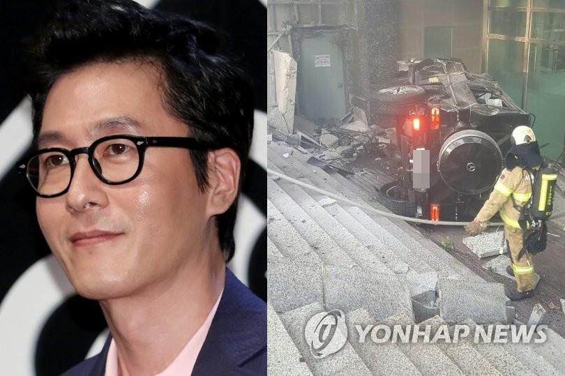 배우 김주혁, 삼성동 교통사고로 사망…병원 이송 후 숨져