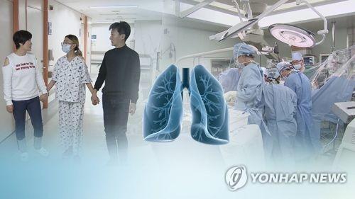 중증 폐질환자, 살아있는 사람 '폐 이식' 가능해진다