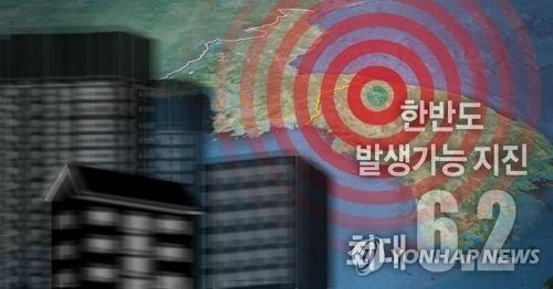 기상청, 한반도 발생가능 지진 최대규모 6.2(PG)