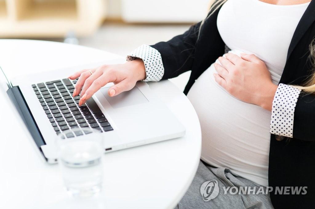 임신부 근로자  [게티이미지뱅크 제공=연합뉴스 자료사진]