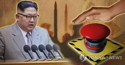 김정은, 미 전역 사정권 둔 '핵단추' 언급 (PG)