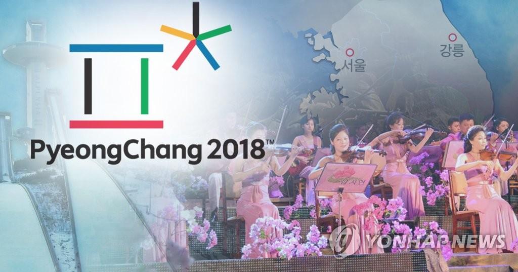 """""""삼지연 관현악단 140여명 예술단 파견""""…서울·강릉 공연"""