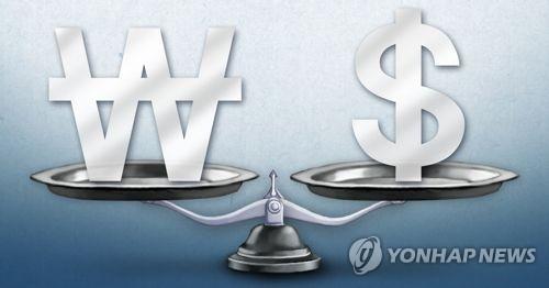 원 달러  환율 (PG) [제작 최자윤] 일러스트