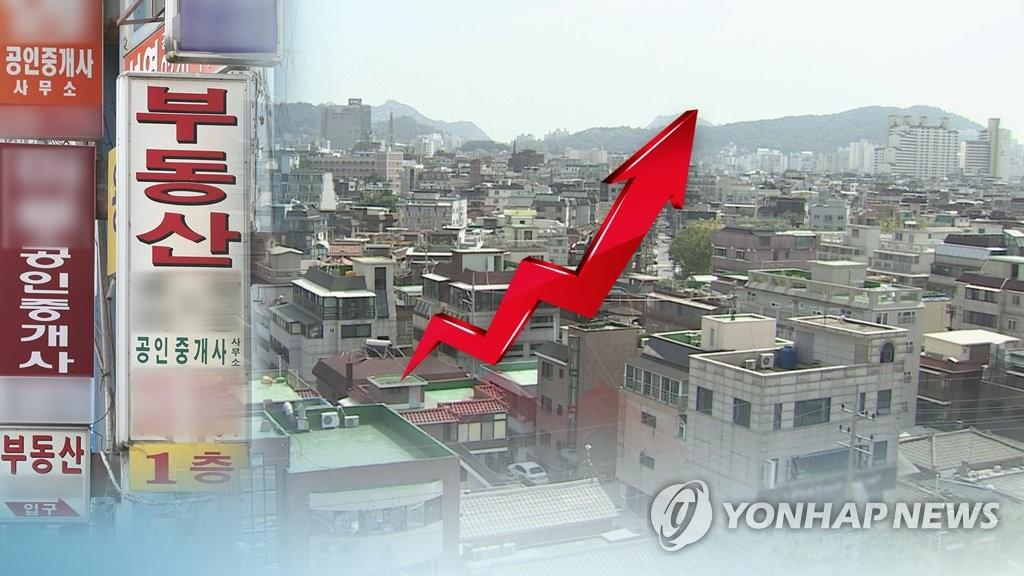 지난해 부동산 증여 역대 최대 (CG) [연합뉴스TV 제공]
