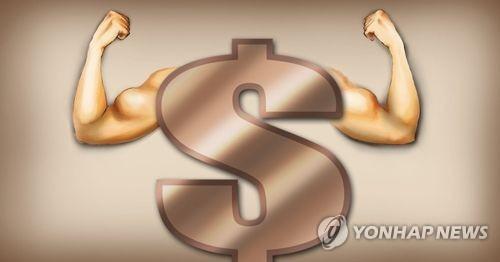 달러 강세(PG)  [제작 이태호] 일러스트