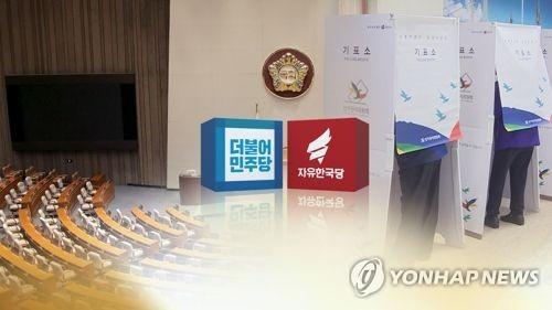 국회의원 재보선, 민주 10곳·한국 1곳 승리(CG) [연합뉴스TV 제공