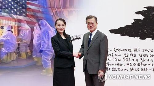 """美언론 """"긴장완화…핵포기 신호없이 방북엔 반대"""" 예상 (CG)"""