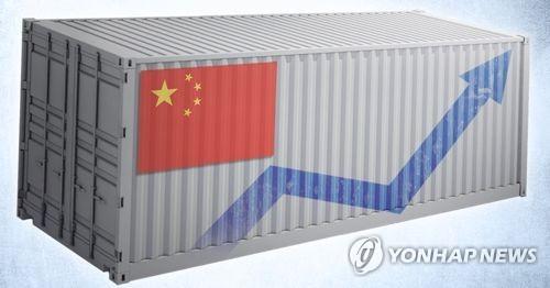 중국 수출 증가 (PG) [제작 조혜인] 일러스트, 합성사진