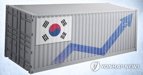 한국 수출 증가 (PG)