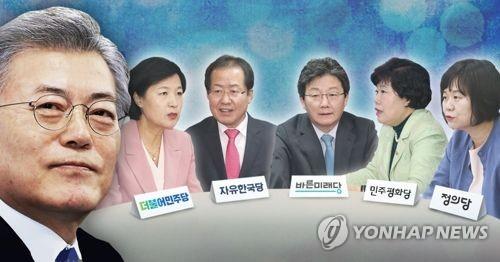 문 대통령·여야 대표 청와대서 오찬회동… 초당적 안보협력 논의