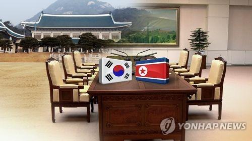 靑 '정례 판문점 회담' 추진(CG) [연합뉴스TV 제공]