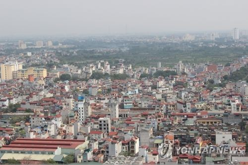 베트남 수도 하노이시 전경 [연합뉴스 자료 사진]