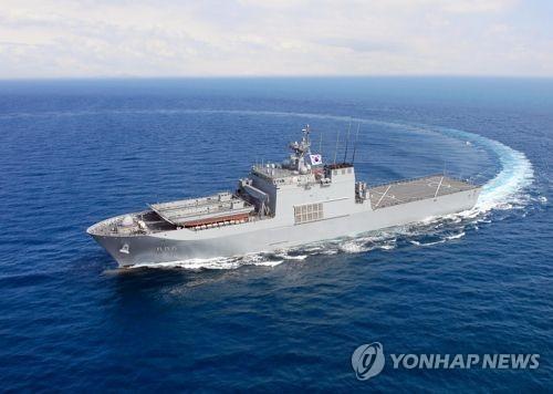 韓国海軍の艦艇=(聯合ニュース)