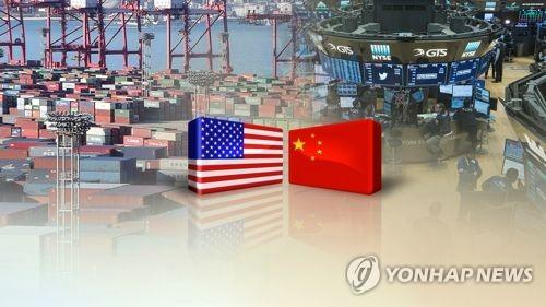 미국과 중국 무역전쟁 (CG)  [연합뉴스TV 제공]