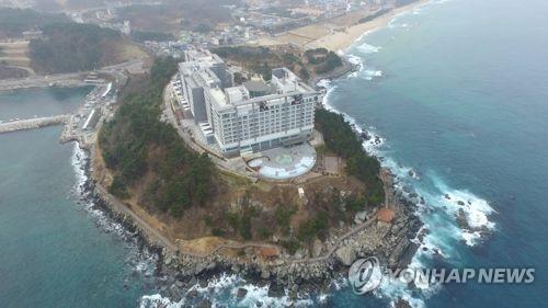 속초 외옹치 '바다향기로'[연합뉴스 자료사진]