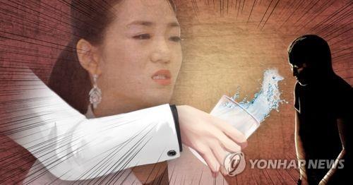 조현민 대한항공 전무, '물뿌리기' 갑질 논란 (PG)