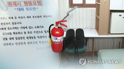 국가안전대진단 불시 점검…고시원 화재안전 실태는 (CG)