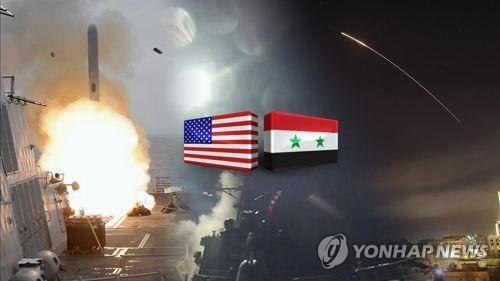 미국, 시리아서 조기철군?  장기주둔?(CG) [연합뉴스TV 제공]