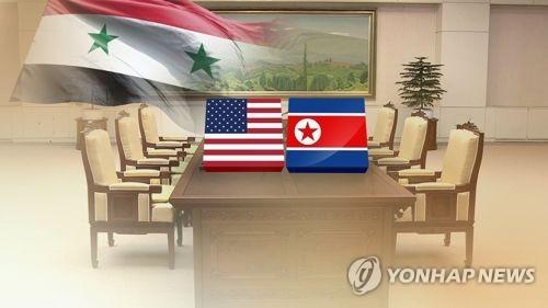트럼프 주도 시리아 공습…북미회담 변수작용 여부 주목 (CG)
