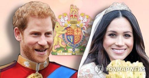 영국 해리 왕자와 메건 마클 결혼식 (PG)