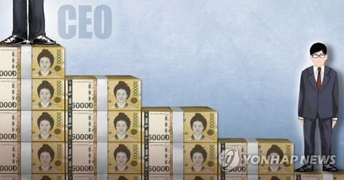 """경제개혁硏 """"대기업 CEO 평균연봉 14억…직원 연봉의 21배"""""""