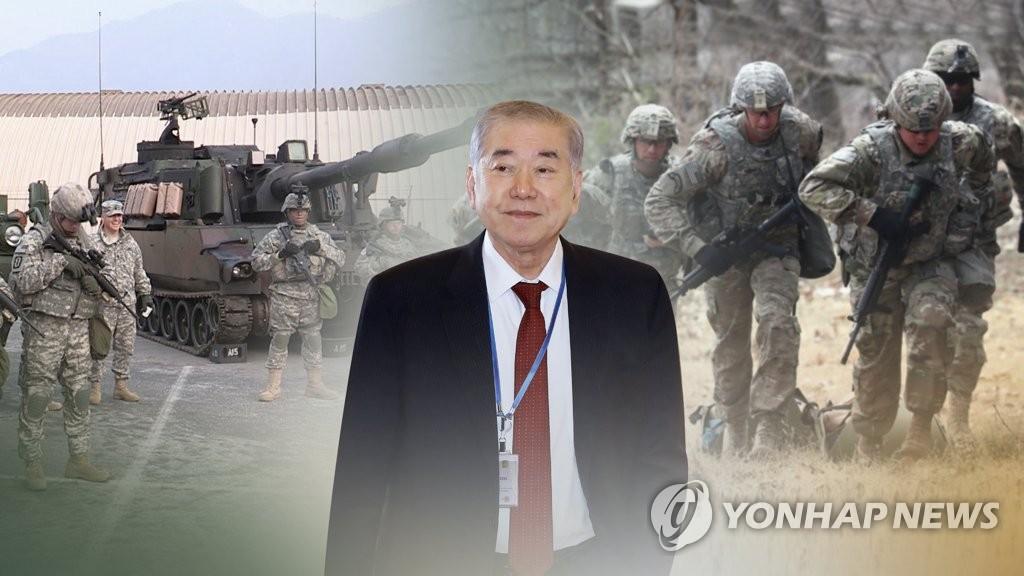 당청 진화에도…野, 문정인 '주한미군 발언' 맹공(CG)