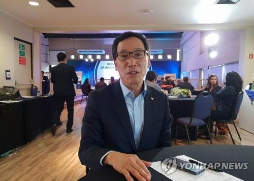 韩国农林水产食品公社社长李柄浩