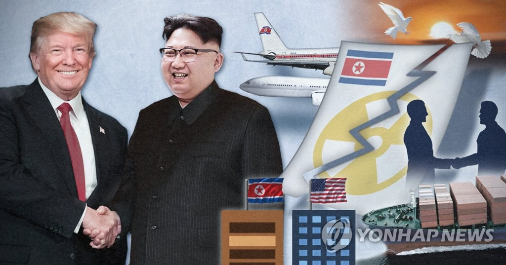 북미정상회담 '빅딜' 윤곽, 북 비핵화, 북미 제제 해제 (PG)