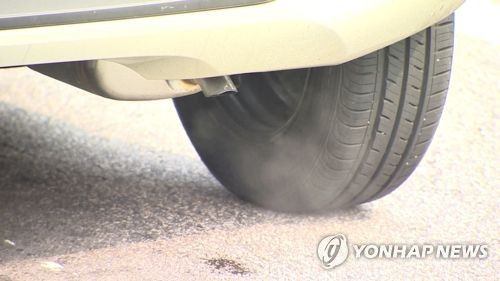 제주서 자동차 매연 오염물질 감시 '대기측정망' 운영