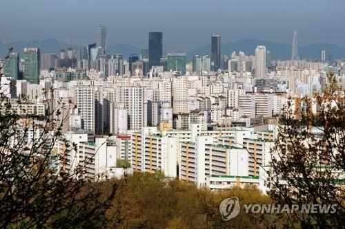 서울의 아파트 단지