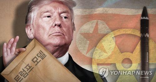 북한 비핵화 '트럼프 모델' (PG)