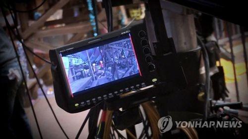 드라마 촬영 현장 [연합뉴스TV 제공]