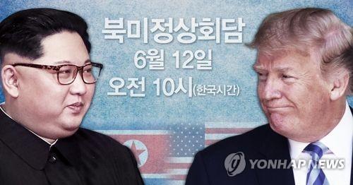 トランプ大統領(右)と金委員長(コラージュ)=(聯合ニュース)