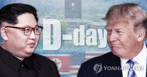 북미정상회담 카운트다운 D-day (PG)