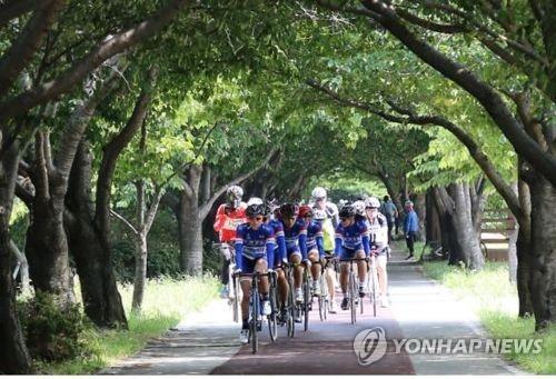 을숙도 생태공원 자전거 라이딩