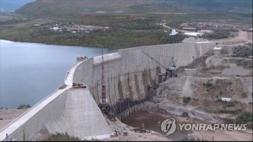 북한 수력발전소