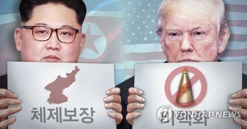 북미정상회담, 비핵화-체제보장 합의 (PG)