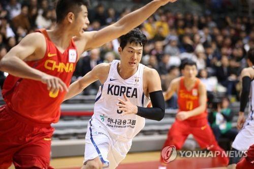한국, 존스컵 국제남자농구 대회서 일본에 29점 차 완승