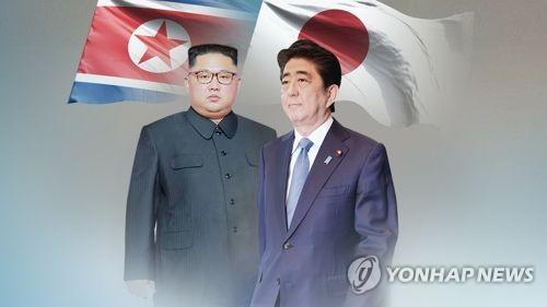 """아베, 김정은에 '러브콜'…""""北과 신뢰관계 형성하고 싶다""""(CG)"""