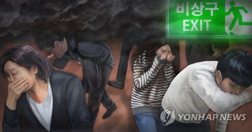 대구 도심 숙박시설서 불…2명 연기흡입·19명 대피