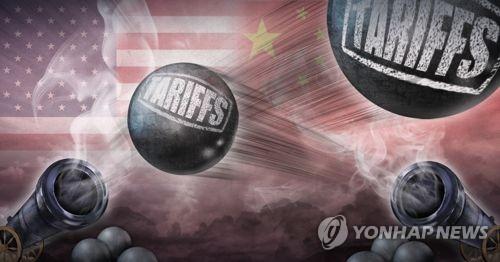 미국-중국 관세폭탄 공격 (PG)
