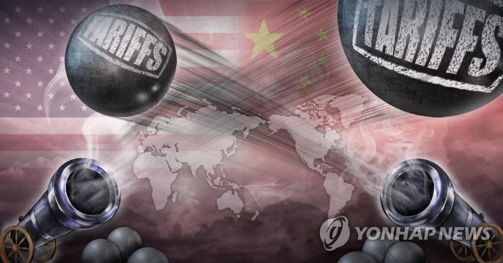 미중 무역전쟁, 세계 경제 위협 (PG)