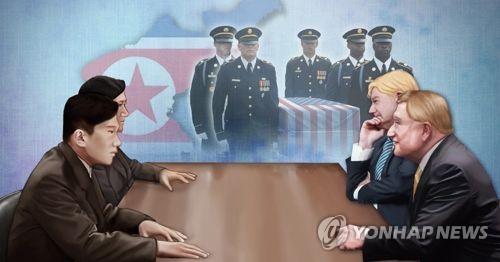 북미, 미군 유해송환 회담 재회 합의 (PG)