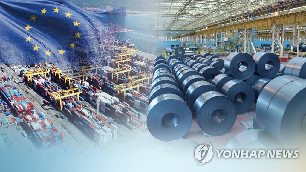 FTA 발효 후 한국·EU 교역 증가(CG)