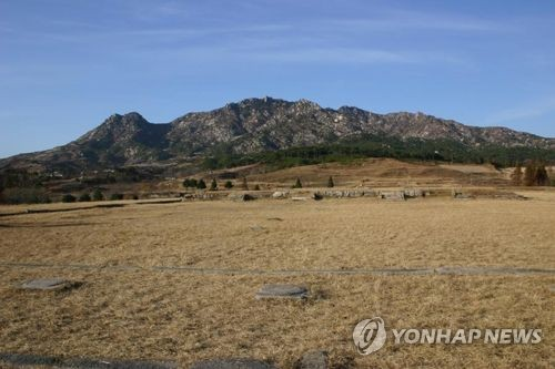This undated file photo shows the site of Manwoldae, which was the palace of the Goryeo Dynasty (918-1392), in Kaesong, North Korea. (Yonhap)