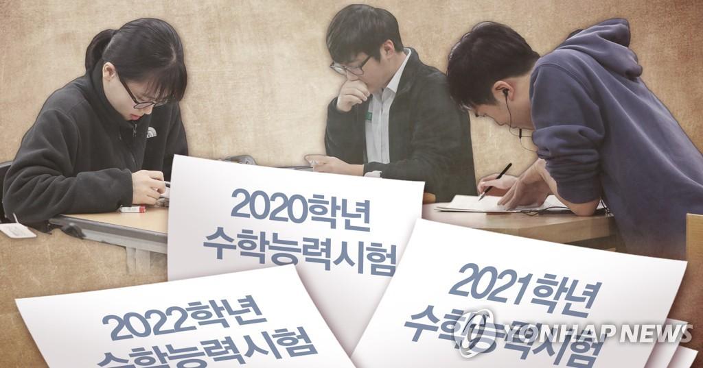 2020·2021·2022학년도 다른 수능 출제 범위 (PG)