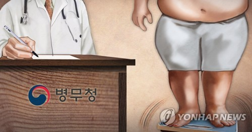 병무청 고의로 체중 늘린 병역면제자 적발 (PG)