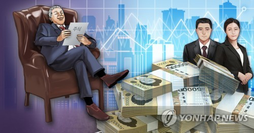 국내 100억대 그룹 총수일가 주식 자산·자식세대 승계 (PG)