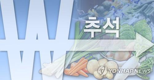 추석 전 농산물 가격 안정세(PG)