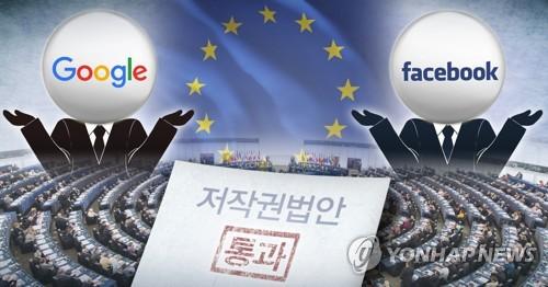유럽의회 콘텐츠 제공업자 저작권법안 통과 (PG)